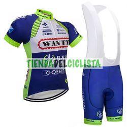 Equipación ciclismo WANTY 2018