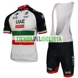 Equipación ciclismo UAE ITALIAN CHAMPION 2018