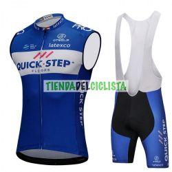 Equipación ciclismo Corta QUICSTEP 2018