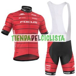 Equipación ciclismo Corta FOCUS 2018