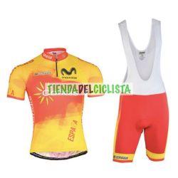 Equipación ciclismo Corta ESPAÑA 2018