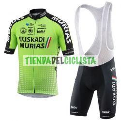Equipación ciclismo Corta EUSKADI 2018
