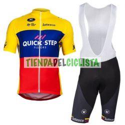 Equipación ciclismo Corta QUICK-STEP 2018