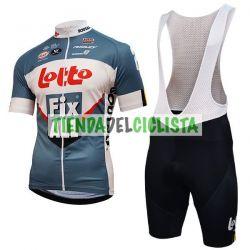 Equipación ciclismo Corta LOTTO 2018