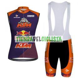 Equipación ciclismo Corta KTM 2018