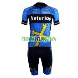 Equipación ciclismo Corta ASTURIAS 2018