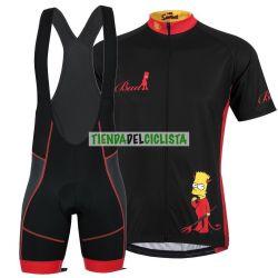Equipación ciclismo Corta SIMPSONS 2018