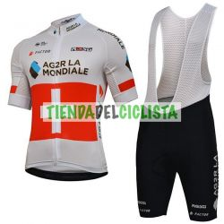 Equipación ciclismo Corta AG2R 2018