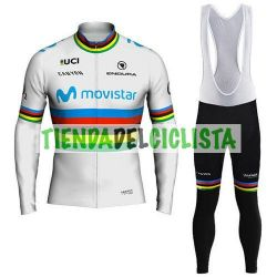 Equipacion Cilclismo Térmico MOVISTAR UCI 2018
