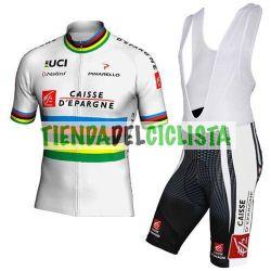 Equipación ciclismo CAISSE ESPARGNE 2018
