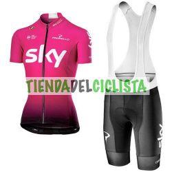 """Equipación ciclismo SKY 2019 \\""""mujer\\"""""""