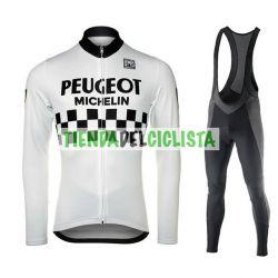 Equipacion Cilclismo Larga PEUGEOT 2019