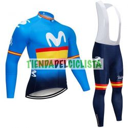Equipacion Cilclismo Larga MOVISTAR 2019