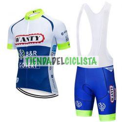Equipación ciclismo WANTY 2019