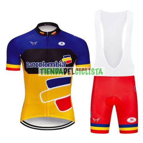 Equipación ciclismo BANCOLOMBIA 2019