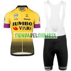 Equipación ciclismo JUMBO 2019