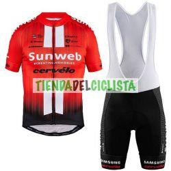 Equipación ciclismo SUNWEB CERVELO 2019