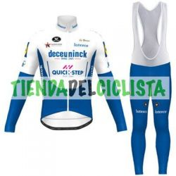 Equipacion Cilclismo Larga QUICK STEP 2020
