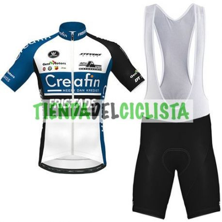 Equipación ciclismo CREAFIN FRISTADS 2020