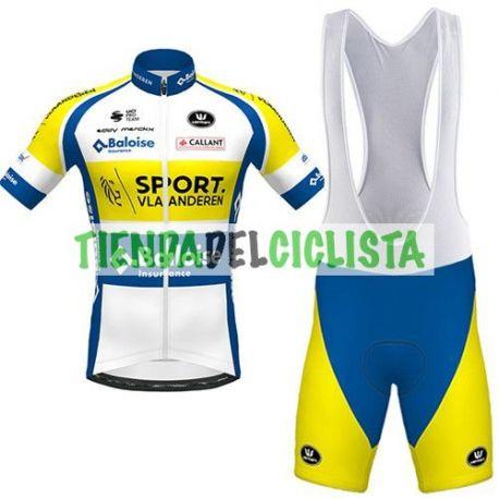 Equipación ciclismo SPORT VLAANDEREN-BALOISE 2020