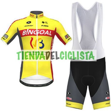 Equipación ciclismo WALLONIE BRUXELLES 2020