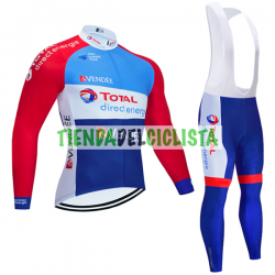 Equipacion Cilclismo Larga TOTAL DIRECT ENERGIE 2020