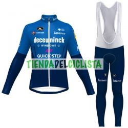Equipacion Cilclismo Larga QUICK STEP 2021