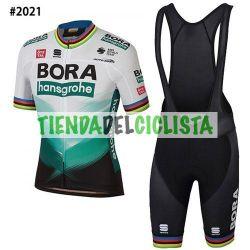 Equipación ciclismo BORA 2021