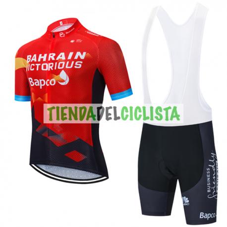 Equipación ciclismo BAHRAIN VICTORIOUS 2021