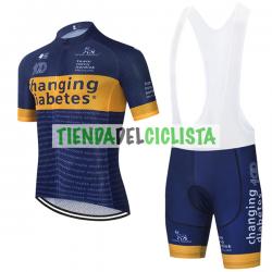 Equipación ciclismo CHANGING DIABETES 2021