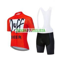 Equipación ciclismo DUFF BEER 2021