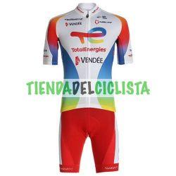 Equipación ciclismo TOTAL ENERGIE 2021