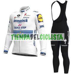 Equipacion Cilclismo Larga QUICK STEP2021