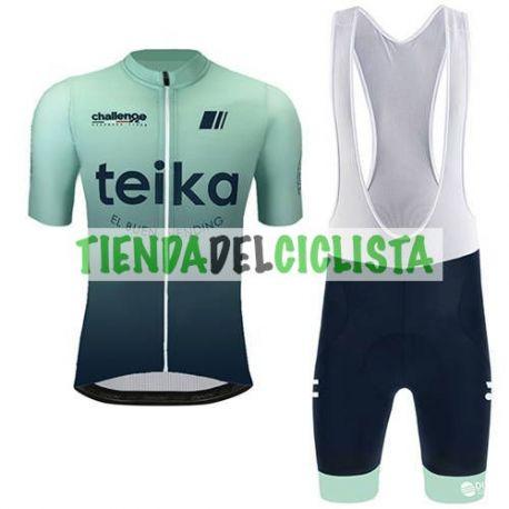 Equipación ciclismo TEIKA 2021