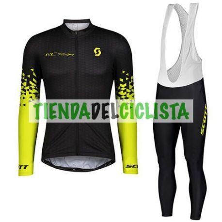 Equipacion Cilclismo Larga SCOTT 2021